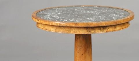 Schönes Objekt 0477: Runder Tisch Marmor